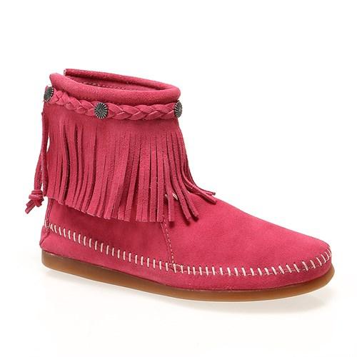 Minnetonka 295L Kadın Ayakkabı Hot Pink