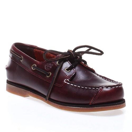 Timberland Boat Shoes Ftk 85754 Çocuk Bot Brown