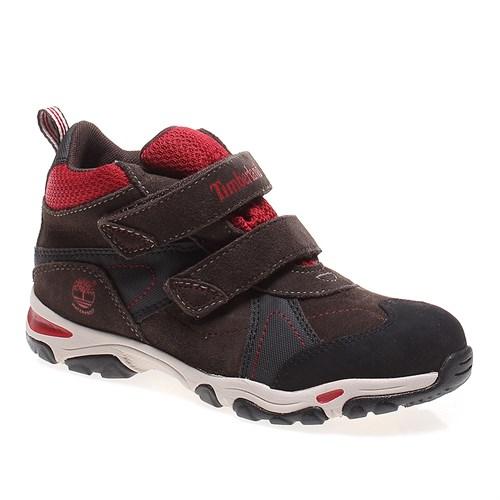 Timberland Trail Force Wp H&L Chukka 9274R Çocuk Bot Brown Wıth Black Red