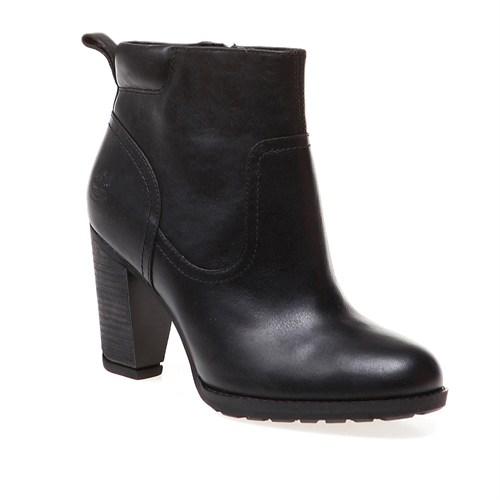 Timberland Stratham Heights Side Zip Ankle Wp Boot 8613A Kadın Bot Siyah