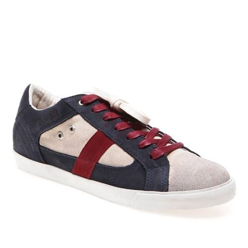 Timberlandek Glastenbury Sneaker Ox 8665A Kadın Navy Günlük Ayakkabı Casual