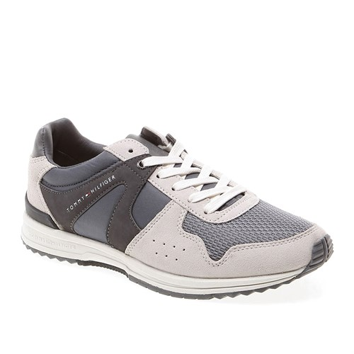 39 Tommy Hilfiger Owen 2C Fm56818995 Erkek Ayakkabı 039 Steel Grey