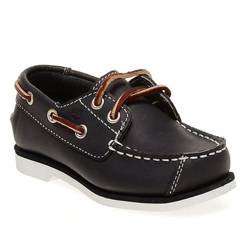 Timberland Boat Shoes Ftk 85838 Çocuk Bot Navy Smooth