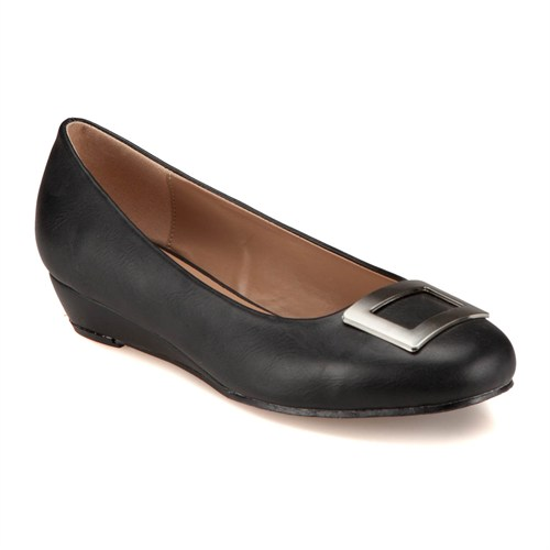 Errica Pablo F18076 Siyah Kadın Ayakkabı