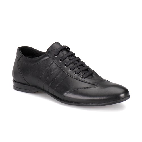 Oxide Lx1908 M 1602 Siyah Erkek Deri Ayakkabı