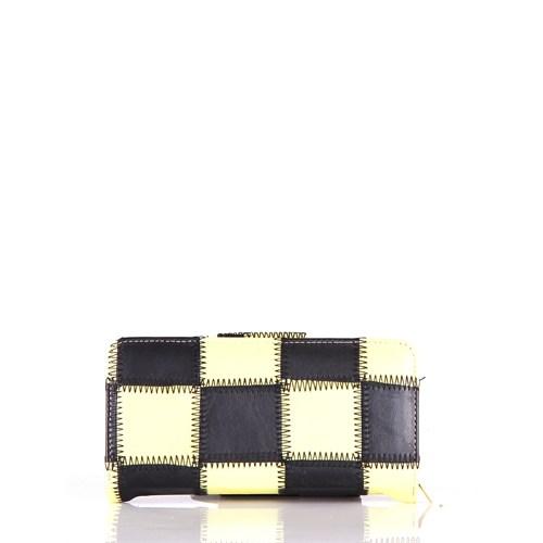 Juncture R-06-09 Sarı-Siyah Cüzdan
