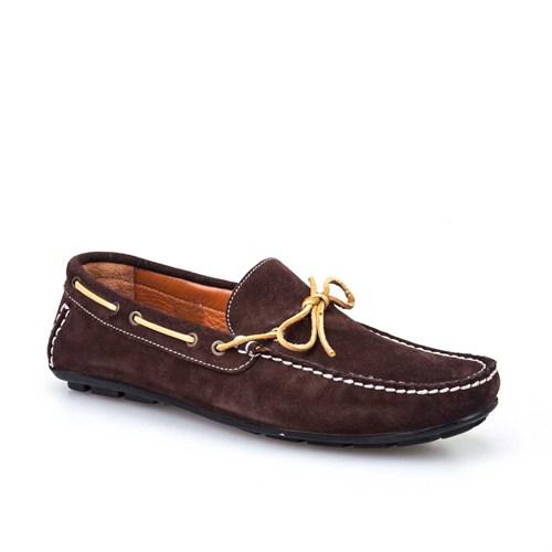 Cabani Makosen Günlük Erkek Ayakkabı Kahverengi Süet