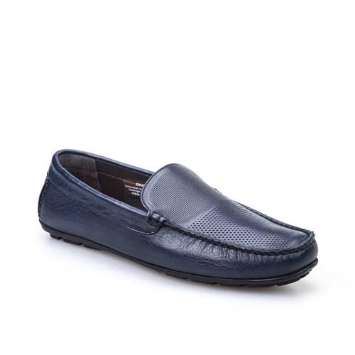 Cabani Günlük Erkek Ayakkabı Lacivert Napa Deri