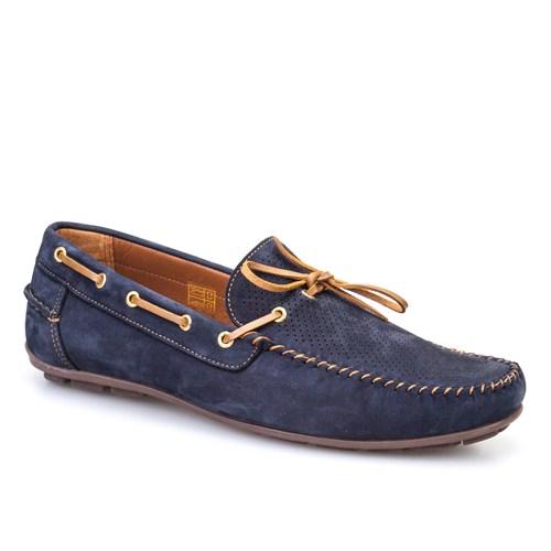 Cabani Makosen Günlük Erkek Ayakkabı Lacivert Nubuk