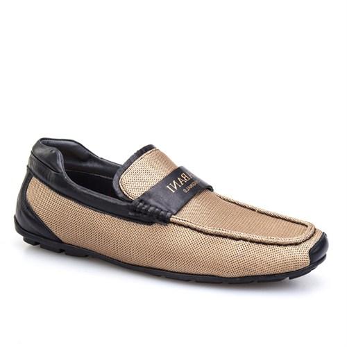 Cabani Kemerli Günlük Erkek Ayakkabı Siyah Deri
