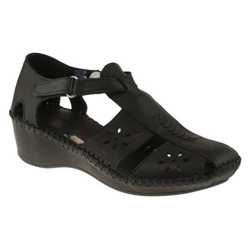 Greyder 99 6Y2cs50230 Siyah Sandalet