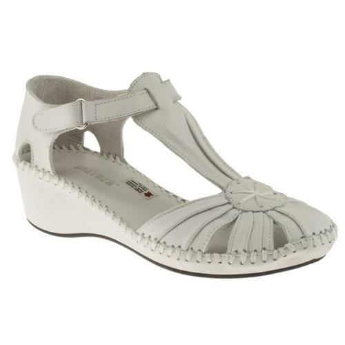 Greyder 99 6Y2cs50232 Beyaz Sandalet