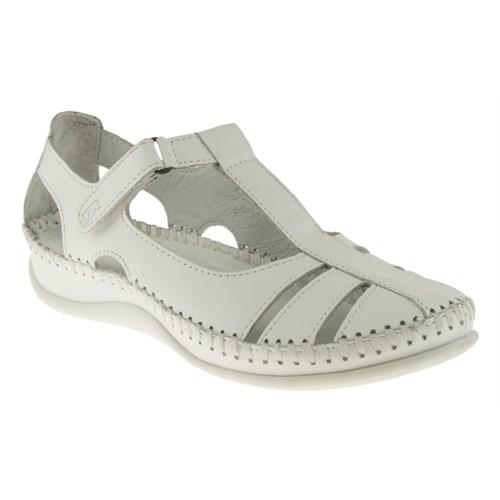 Greyder 99 6Y2cs55285 Beyaz Sandalet