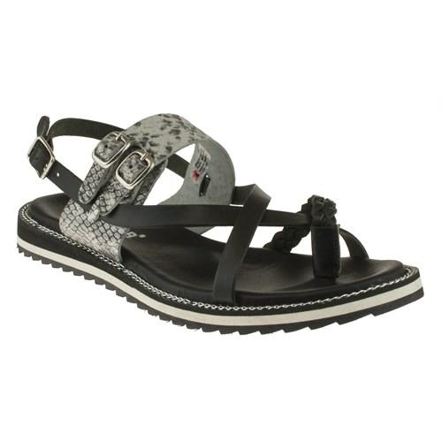 Greyder 99 6Y2ts50101 Siyah Sandalet