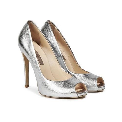Desa Collection Eva Kadın Abiye Ayakkabı Gümüş