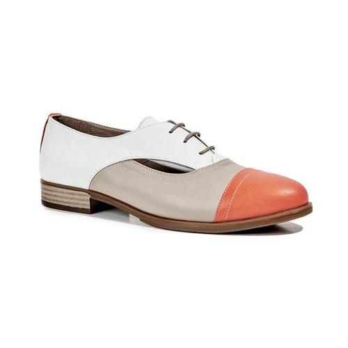Desa Ellery Kadın Günlük Ayakkabı Narçiçeği Vizon Beyaz