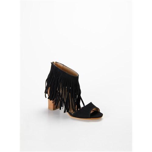 Shumix Günlük Kadın Sandalet K500 1422Shuss.Siy