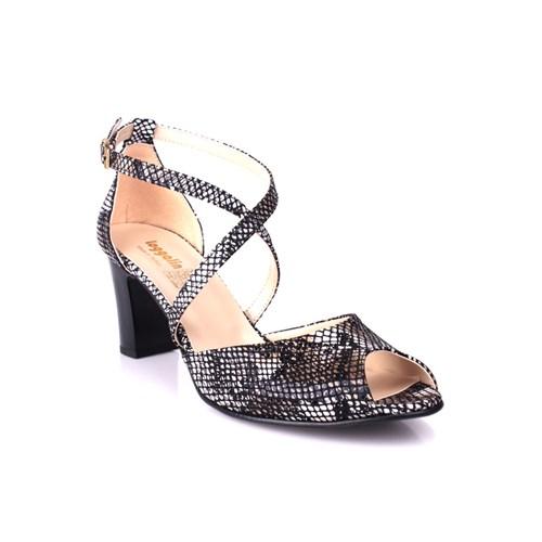 Loggalin 375324 031 019 Kadın Siyah - Beyaz Günlük Ayakkabı