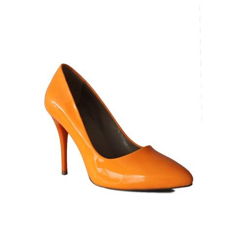 Loggalin 580115 031 291 Kadın Neon Turuncu Stiletto