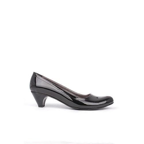 Loggalin 730730 035 020 Kadın Siyah Rugan Günlük Ayakkabı
