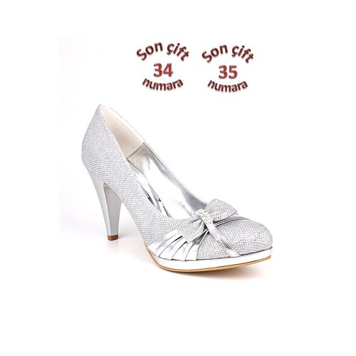 Loggalin 632632 031 773 Kadın Silver Abiye Ayakkabı