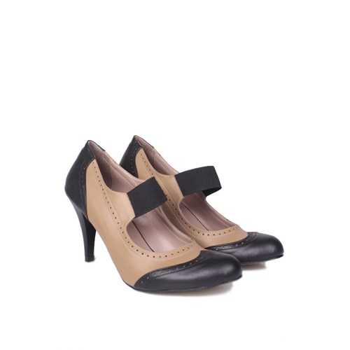 Loggalin 520322 031 034 Kadın Siyah Vizon Ayakkabı