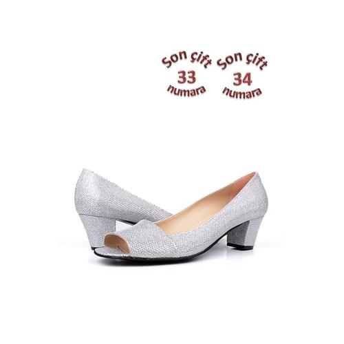 Loggalin 375025 031 770 Kadın Gümüş Günlük Ayakkabı