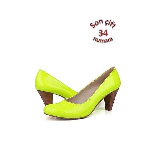 Loggalin 375101 031 391 Kadın Neon Sarı Günlük Ayakkabı
