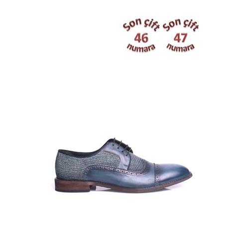 Erkan Kaban 352015 045 B66 Erkek Lacivert Klasik Ayakkabı
