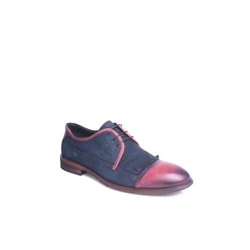 Erkan Kaban 352060 045 432 Erkek Lacivert Taba Klasik Ayakkabı