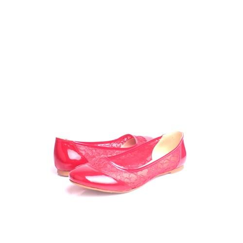 Loggalin 782257 501 Kadın Kırmızı Babet