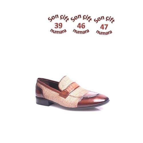 Erkan Kaban 352323 045 321 Erkek Kahverengi Klasik Ayakkabı