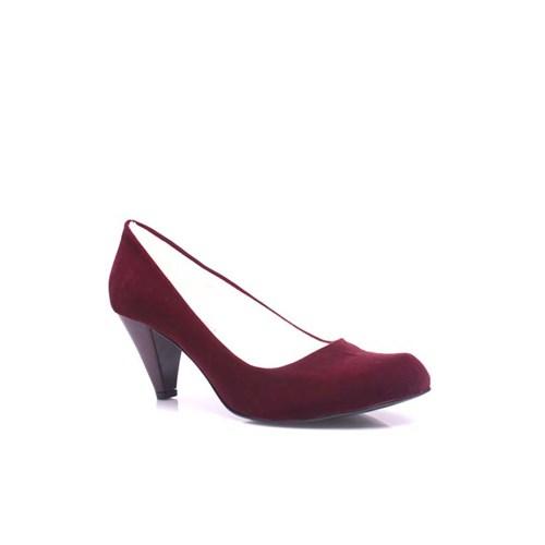 Loggalin 580720 627 Kadı Bordo Süet Ayakkabı