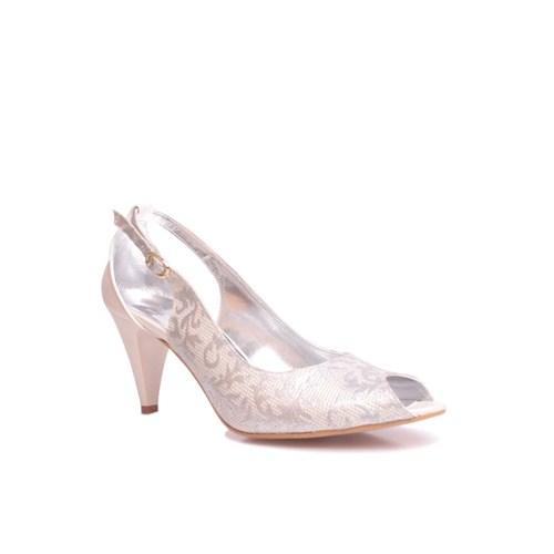 Loggalin 520680 031 721 Kadın Silver Abiye Ayakkabı