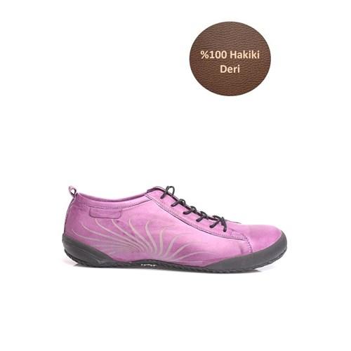Loggalin 313323 090 628 Kadın Mor Günlük Ayakkabı