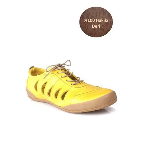 Loggalin 313160 090 120 Kadın Sarı Günlük Ayakkabı
