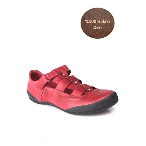 Loggalin 313252 090 625 Kadın Bordo Günlük Ayakkabı