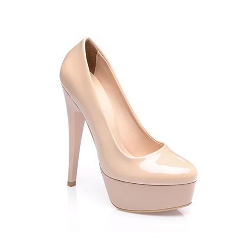 Sothe Mas-008 Ten Kadın Platformlu Ayakkabı