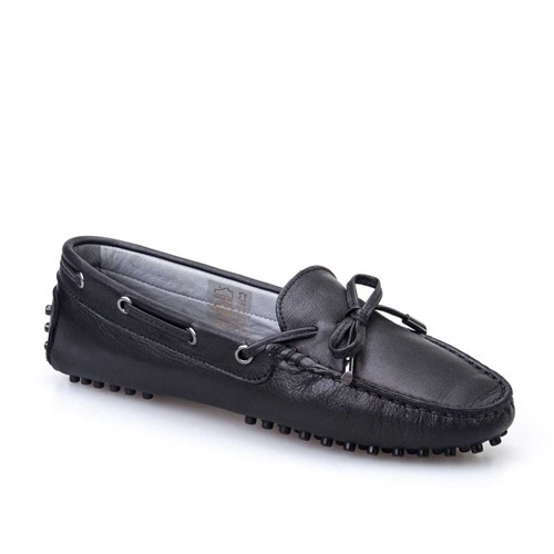 Cabani Kadın Ayakkabı Siyah Deri