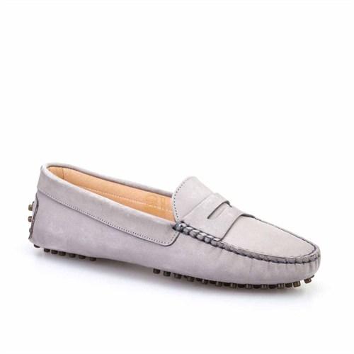 Cabani Kadın Ayakkabı Gri Nubuk