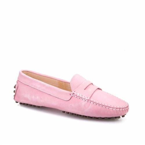 Cabani Kadın Ayakkabı Pembe Nubuk