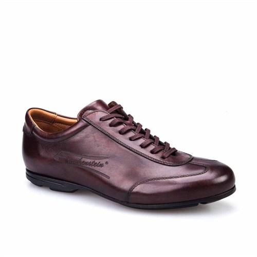 Cabani Hakiki Deri Erkek Ayakkabı Kahve Sanetta Deri