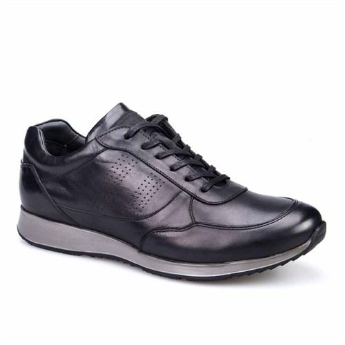 Cabani Günlük Erkek Ayakkabı Siyah Soft Deri