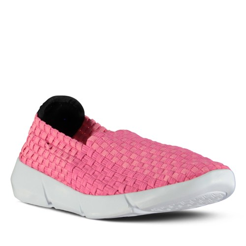 Marjin Adanis Düz Spor Ayakkabı Fuşya