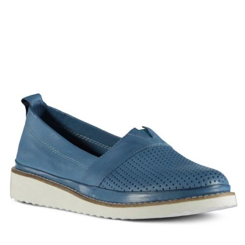 Marjin Aletta Düz Ayakkabı Mavi
