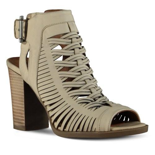 Marjin Zaira Topuklu Ayakkabı Bej