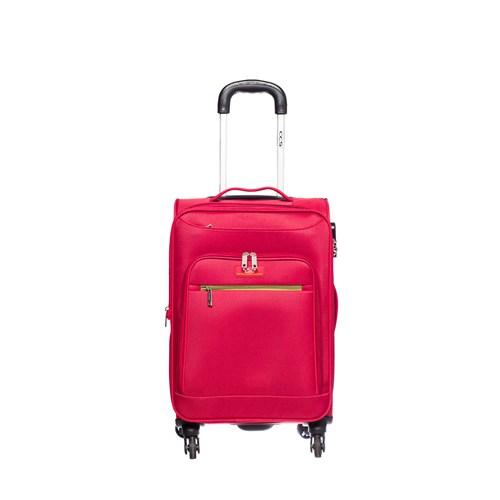 Ççs Kumaş Valiz Ççs5119-S Kırmızı