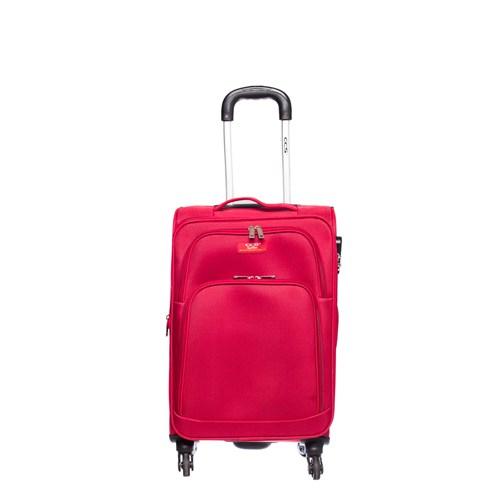 Ççs Kumaş Valiz Ççs5120-S Kırmızı