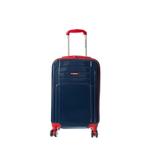 U.S.Polo Assn Abs Valiz Plvlz5011-S Lacivert-Kırmızı