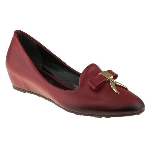 Alisolmaz 151 752Z Kırmızı Ayakkabı